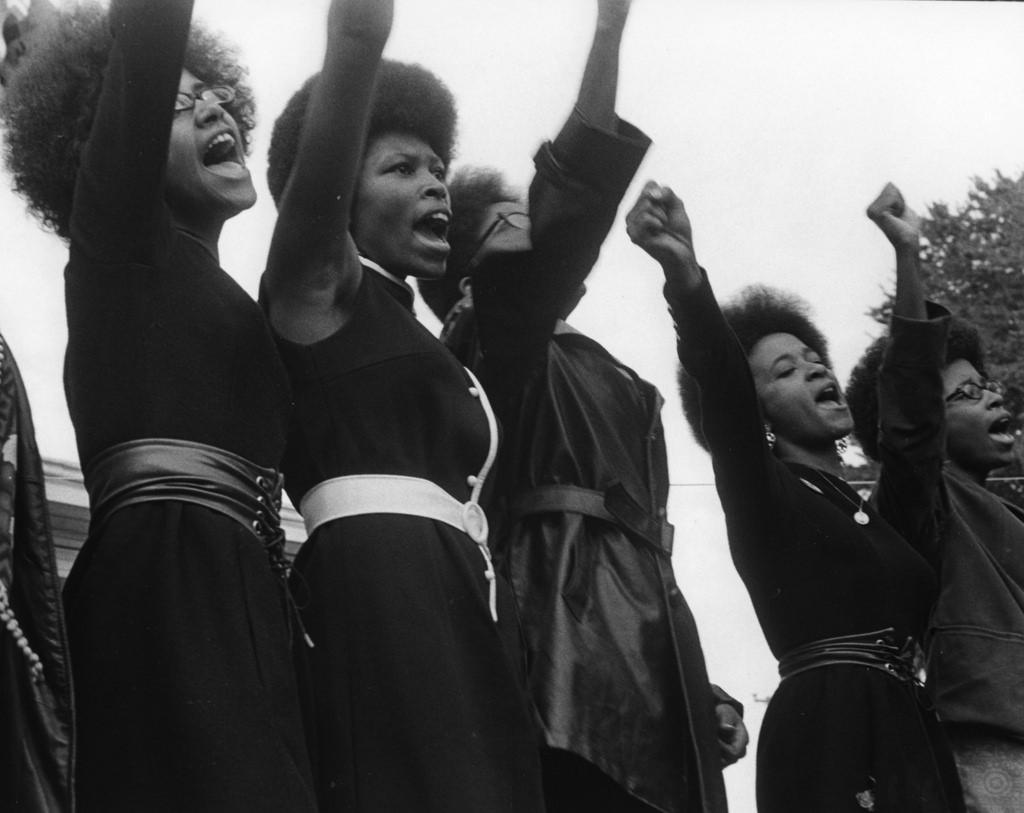 © 2011 Pirkle Jones Foundation | Black Panthers from Sacramento, Free Huey Rally DeFremery Park, Oakland, California, August 25, 1968 by Pirkle Jones / Special to Xpress