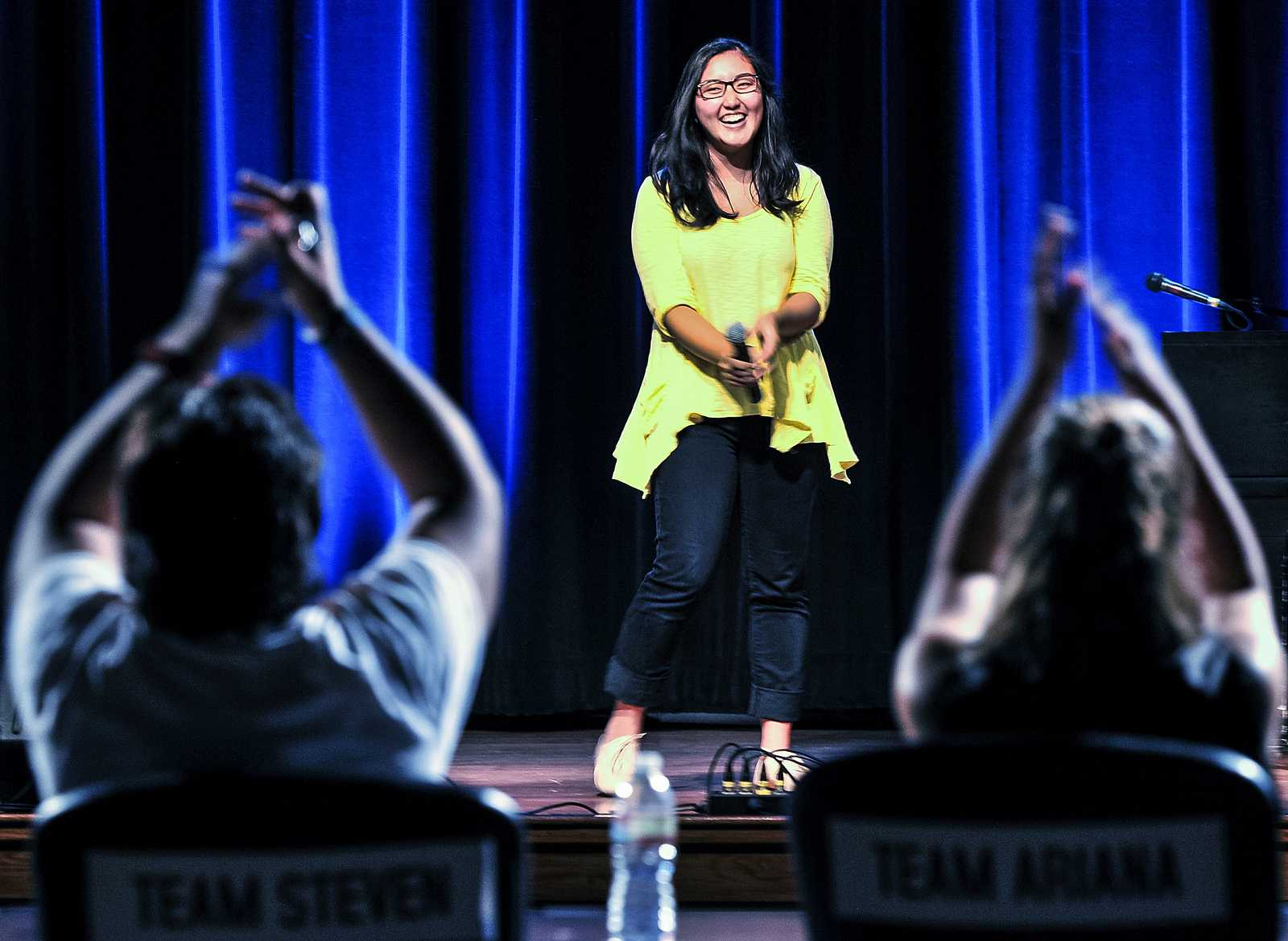Sf State S Voice Competition Begins With Blind Auditions Golden Gate Xpress
